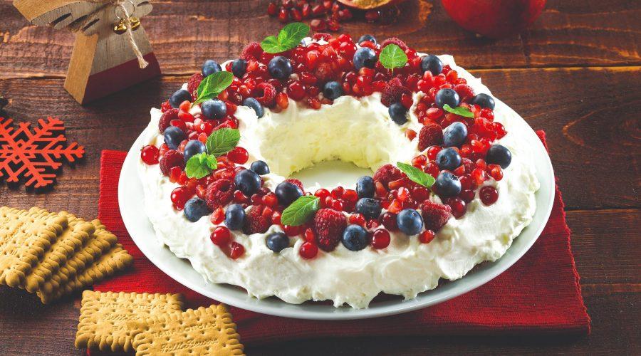 Top slider image for Χριστουγεννιάτικο στεφάνι µε φρούτα του δάσους και Πτι Μπερ Παπαδοπούλου