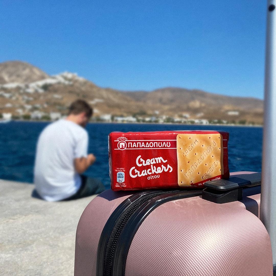 Image for Cream Crackers Παπαδοπούλου, το σνακ σου στο ταξίδι!