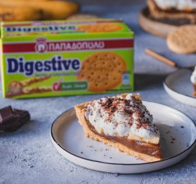 image for Μπανόφι με Digestive, καραμέλα από χουρμάδες χωρίς ζάχαρη