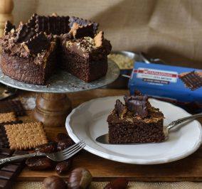 Banner for Κέικ κινόας με frosting κάστανο και Πτι Μπερ με αλεύρι ολικής & μαύρη σοκολάτα