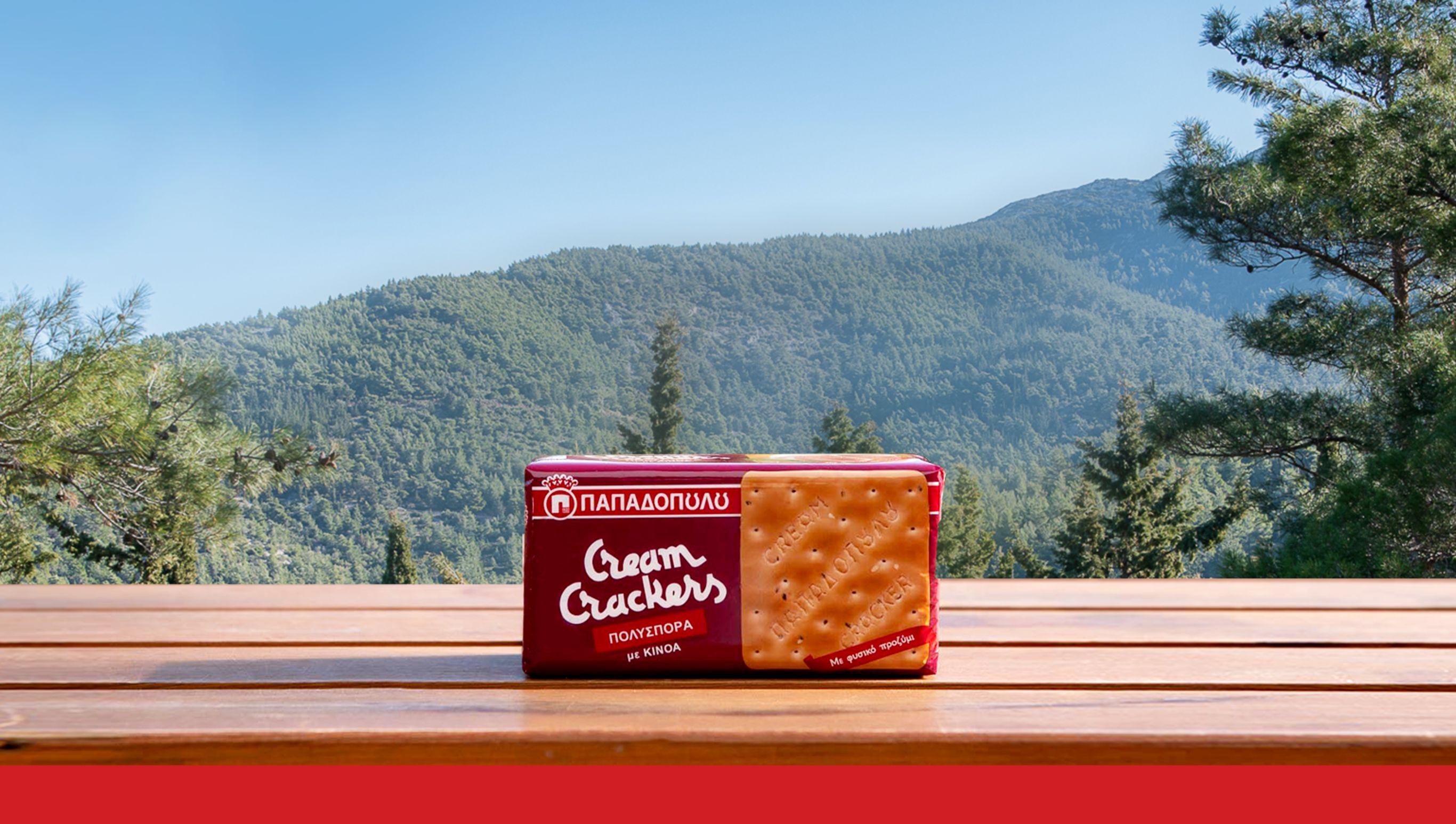 Featured image for Νέα γεύση Cream Crackers Πολύσπορα από την Ε.Ι. Παπαδόπουλος Α.Ε.