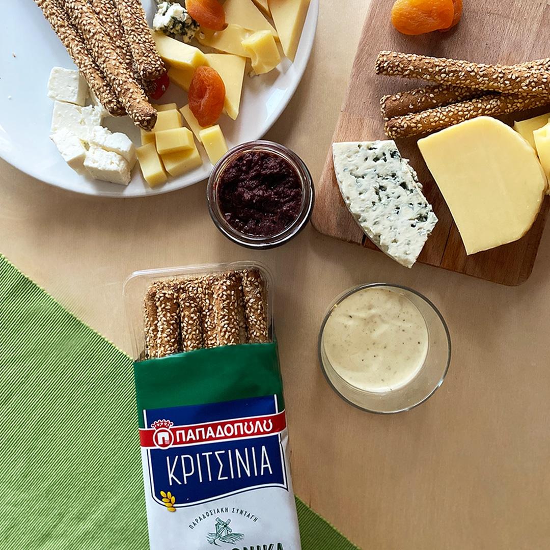 Image for Κριτσίνια και πλατώ τυριών, τέλειος συνδυασμός!