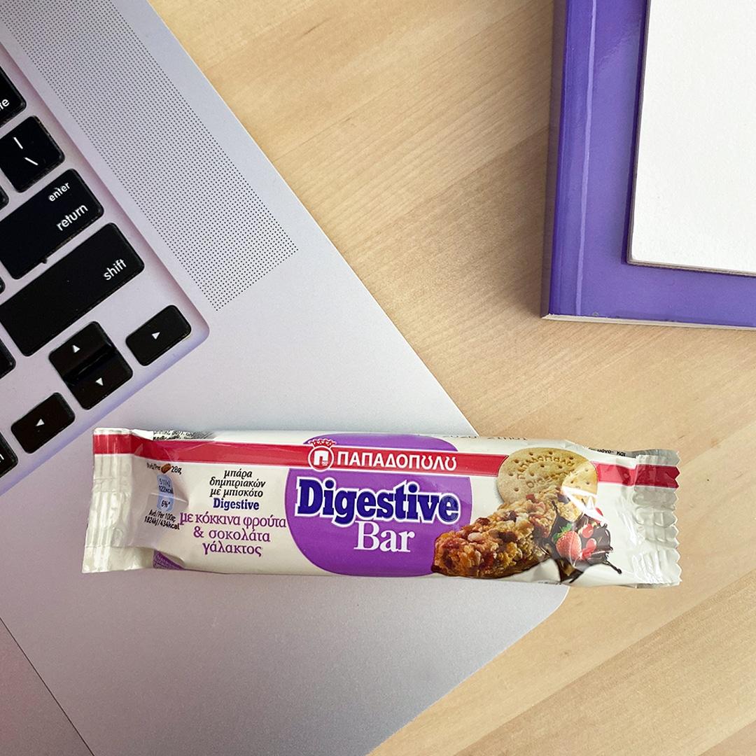 Image for Digestive bar, ιδανικό σνακ για το διάλειμμα στο γραφείο!