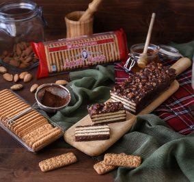 image for Κέικ μπισκότου χωρίς ψήσιμο με Μιράντα