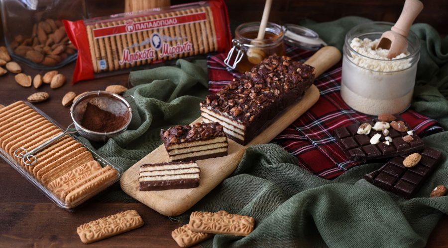 Top slider image for Κέικ μπισκότου χωρίς ψήσιμο με Μιράντα