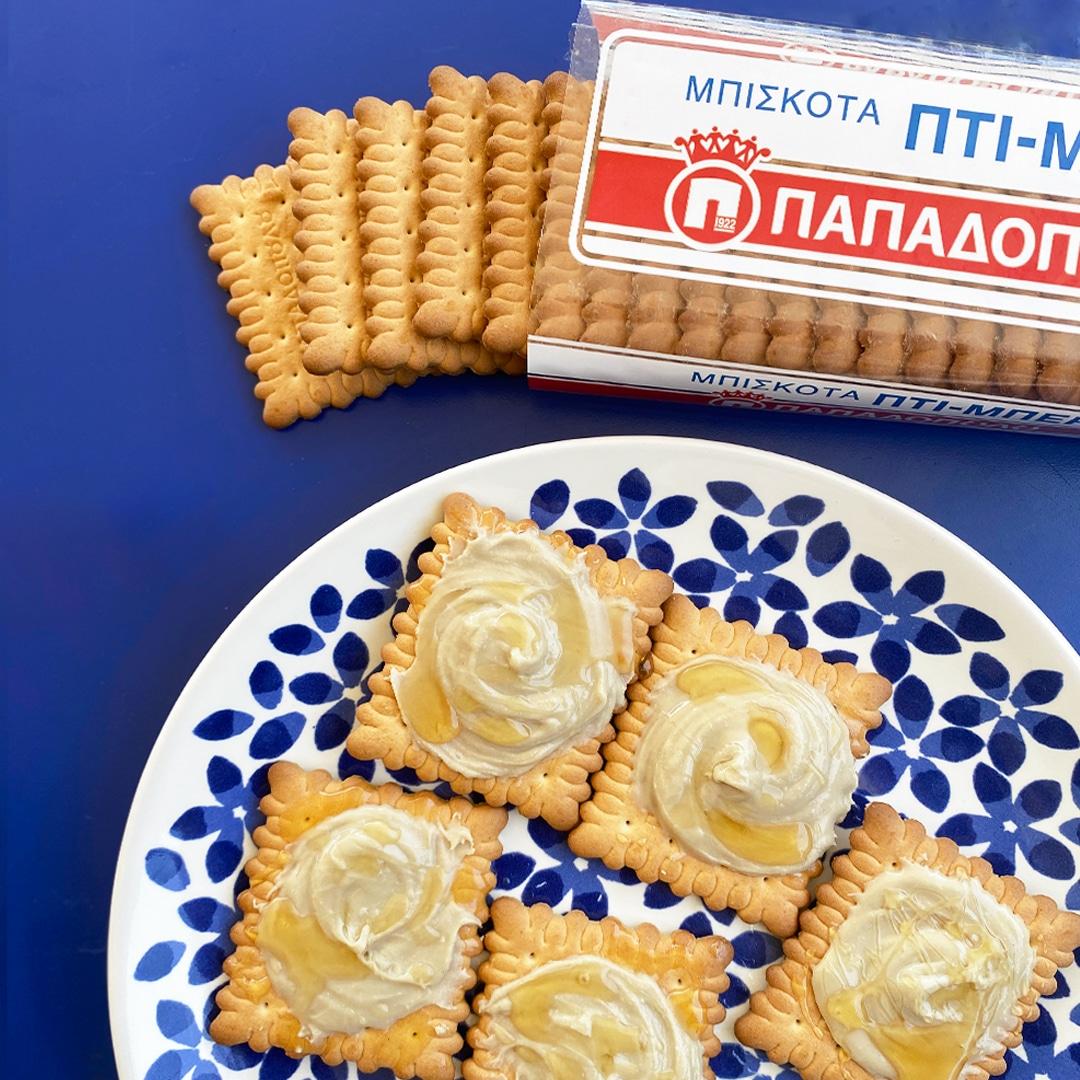 Image for Πτι Μπερ Παπαδοπούλου με μέλι και ταχίνι, σνακ για κάθε ώρα!