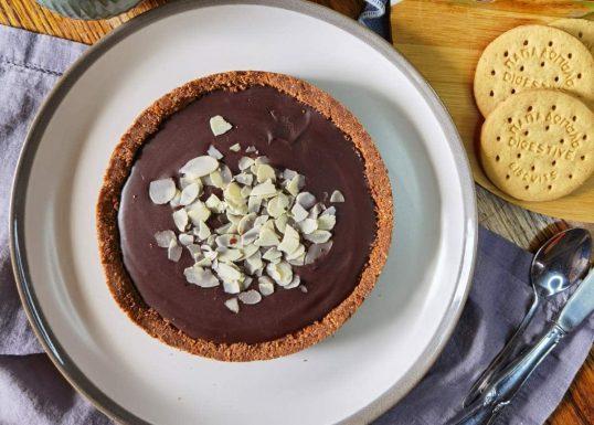 image for Τάρτα σοκολάτας με Digestive Παπαδοπούλου χωρίς ζάχαρη