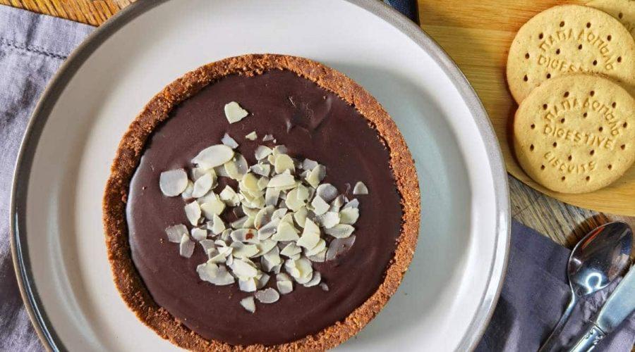 Top slider image for Τάρτα σοκολάτας με Digestive Παπαδοπούλου χωρίς ζάχαρη