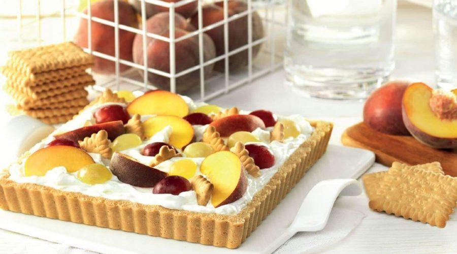 Top slider image for Τάρτα με κρέμα μασκαρπόνε, φρούτα εποχής και Πτι Μπερ Παπαδοπούλου