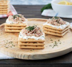 Banner for Εύκολο, γρήγορο και ελαφρύ βραδινό με Cream Crackers