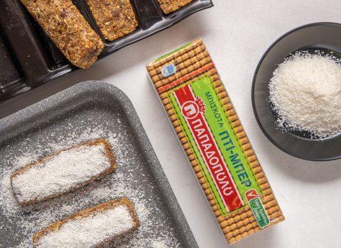 Featured image for Energy bar με χουρμάδες και Πτι Μπερ Παπαδοπούλου χωρίς προσθήκη ζάχαρης
