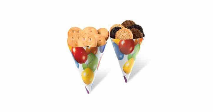Image of Ιδέα για μπουφέ μπισκότων στο παιδικό πάρτι