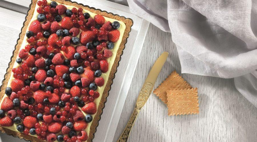 Top slider image for Τάρτα με φρούτα του δάσους με Πτι Μπερ Παπαδοπούλου