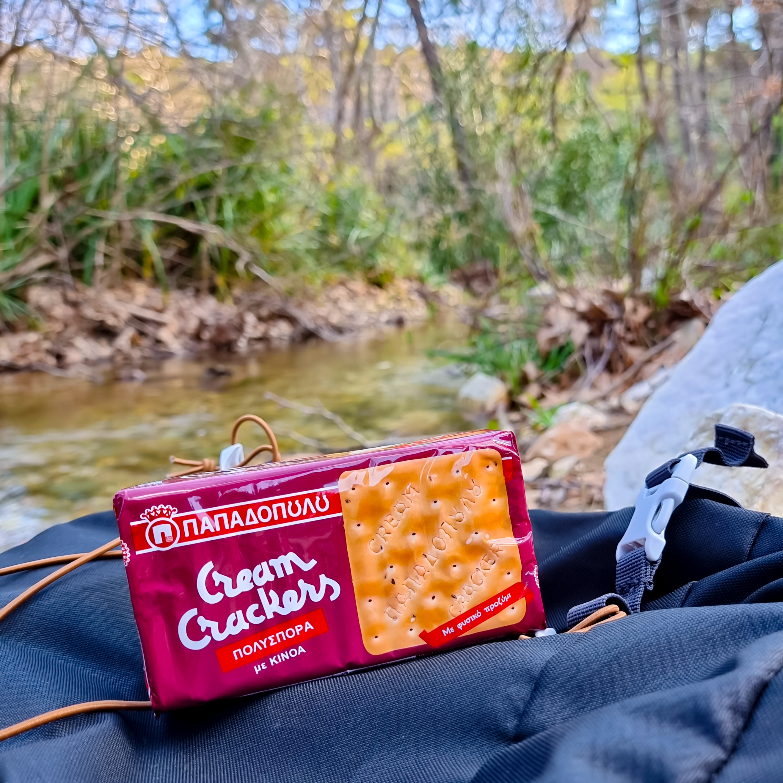image for Cream Crackers πολύσπορα με κινόα για θρεπτικό σνακ, παντού!