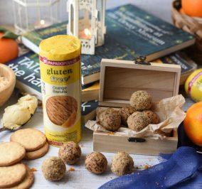 image for Gluten free energy balls με μπισκότα Παπαδοπούλου χωρίς γλουτένη με πορτοκάλι