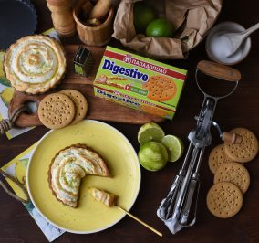 Banner for Healthy lime pie με Digestive Παπαδοπούλου χωρίς ζάχαρη