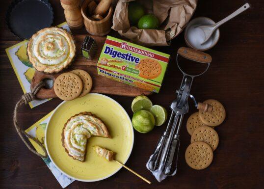 image for Healthy lime pie με Digestive Παπαδοπούλου χωρίς ζάχαρη