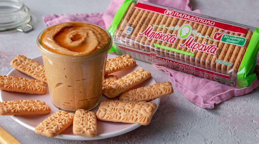 Top slider image for Spread με μπισκότα Μιράντα με μειωμένη ζάχαρη