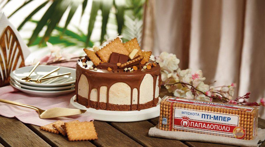 Top slider image for Τούρτα παγωτό μπισκότο με Πτι Μπερ Παπαδοπούλου