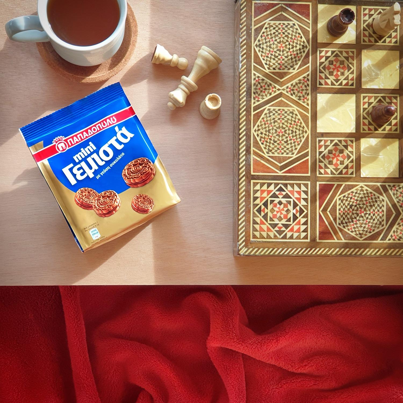 image for Παρτίδα σκάκι συντροφιά με Mini Γεμιστά!