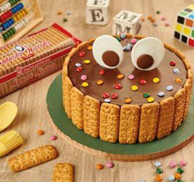 image for Σοκολατένια τούρτα με μπισκότα Μιράντα