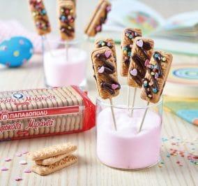 image for Γλειφιτζούρια με μπισκότα Μιράντα, γλάσο και ζαχαρωτά
