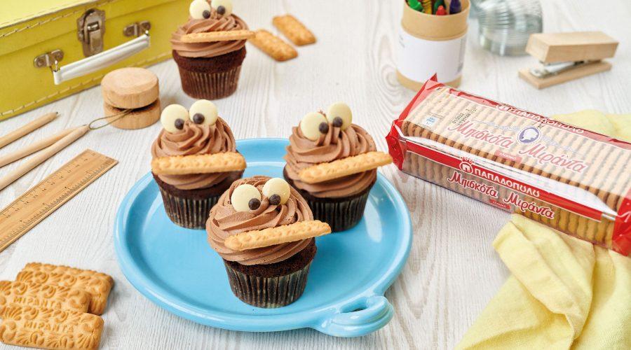 Top slider image for Chocolate cupcakes με μπισκότα Μιράντα