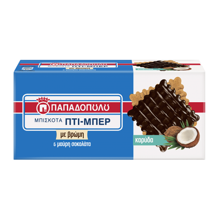 Product Image of Petit-Beurre with coconut coated with chocolate