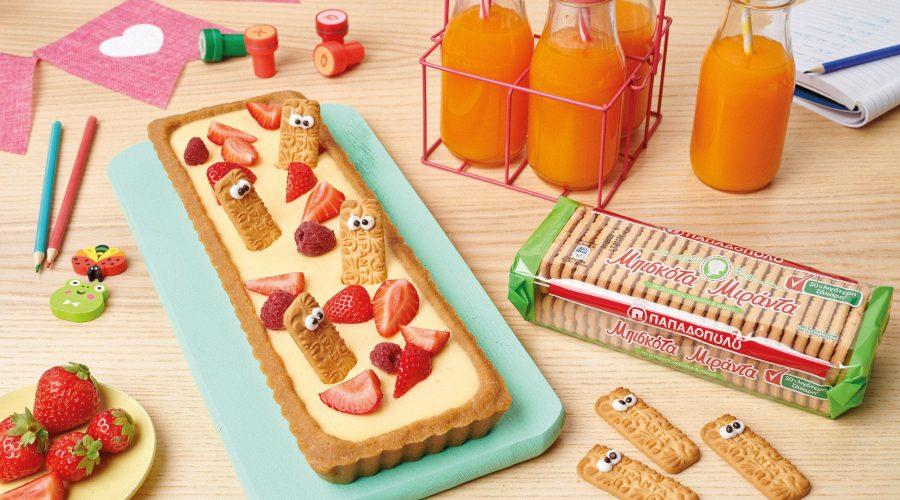 Top slider image for Tάρτα με φρούτα και μπισκότα Μιράντα