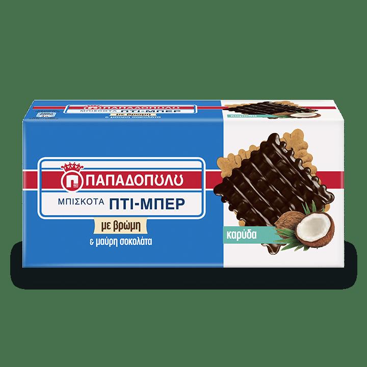 Image of Πτι-Μπερ με καρύδα και σοκολάτα